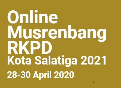 Musrenbang RKPD Kota Salatiga 2021
